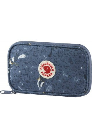 FJALLRAVEN 23630-975 KANKEN ART TRAVEL WALLET BLUE FABLE