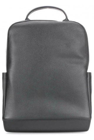 MOLESKINE CLASSIC LEATHER LAPTOP 15'' BACKPACK BLACK ET74UBKBK