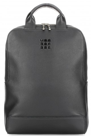 ΔΕΡΜΑΤΙΝΟ ΣΑΚΙΔΙΟ ΠΛΑΤΗΣ MOLESKINE VERTICAL DEVICE LAPTOP 15'' BACKPACK BLACK ET84UDBVBK