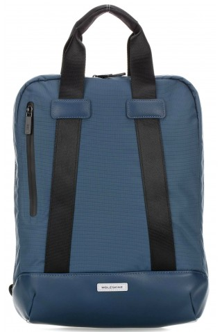 ΣΑΚΙΔΙΟ ΠΛΑΤΗΣ MOLESKINE VERTICAL DEVICE LAPTOP 15'' BACKPACK SAPPHIRE ET82MTDBVB20