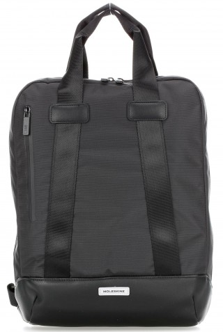 ΣΑΚΙΔΙΟ ΠΛΑΤΗΣ MOLESKINE VERTICAL DEVICE LAPTOP 15'' BACKPACK BLACK ET82MTDBVBK