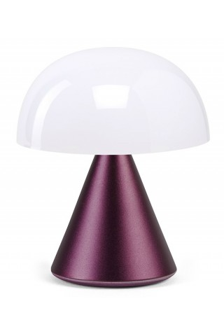 ΜΙΝΙ ΛΑΜΠΑ LEXON LH60MDP MINA MINI LED LIGHT DARK PLUM
