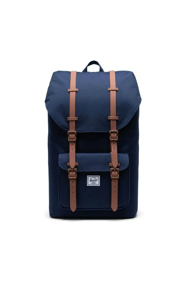 HERSCHEL 10014-03266-OS LITTLE AMERICA BACKPACK PEACOT/SADDLE BROWN