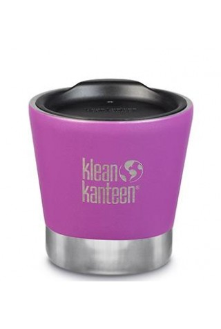 KLEAN KANTEEN  INSULATED TUMBLER 237ml SHALE  BLACK