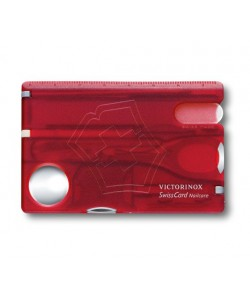 VICTORINOX NO. 0.7240.T SWISSCARD NAILCARE RED TRANS