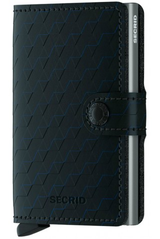 ΠΟΡΤΟΦΟΛΙ SECRID MOP-BLACK-TITANIUM MINIWALLET OPTICAL BLACK-TITANIUM