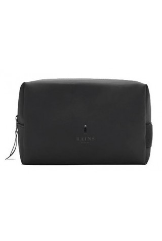 RAINS 1558/01 WASH BAG SMALL BLACK