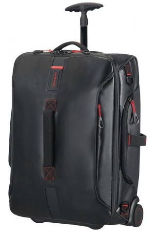 ΒΑΛΙΤΣΑ ΚΑΜΠΙΝΑΣ SAMSONITE PARADIVER LIGHT DUFFEL WHEELED BLACK
