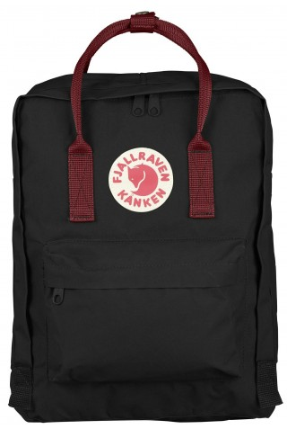 FJALLRAVEN 23510-550-326 KANKEN BACKPACK 16L BLACK-OX RED