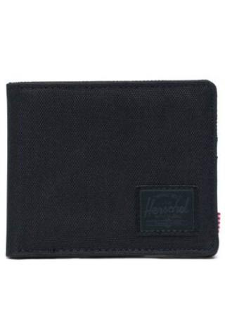 HERSCHEL 10363-00535-OS ROY RFID WALLET BLACK/BLACK