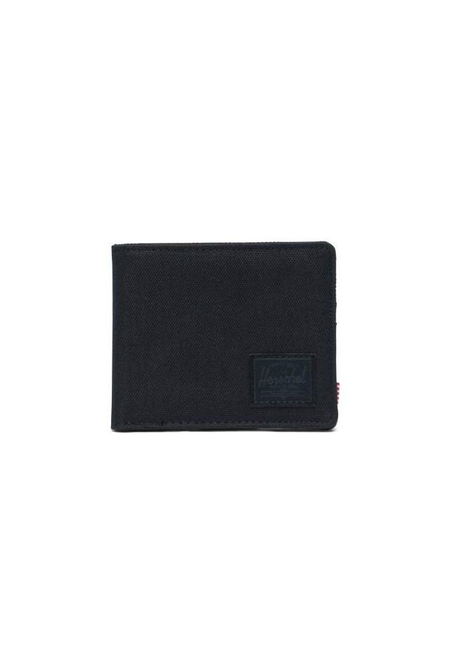 ΠΟΡΤΟΦΟΛΙ HERSCHEL 10363-00535-OS ROY RFID WALLET BLACK/BLACK