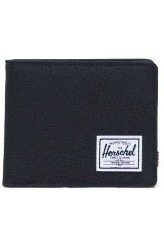 HERSCHEL 10766-00001-OS ROY COIN RFID WALLET BLACK