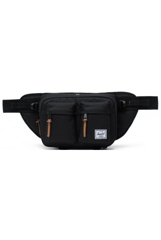 ΤΣΑΝΤΑ ΜΕΣΗΣ HERSCHEL 10018-00001 Eighteen Hip Pack BLACK