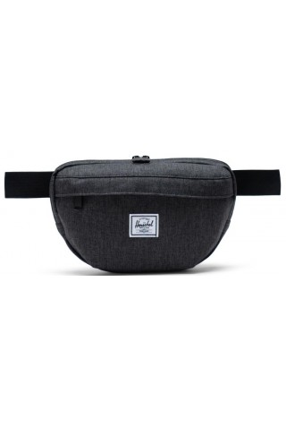 ΤΣΑΝΤΑΚΙ ΜΕΣΗΣ HERSCHEL 10733-02090 NINETEEN HIP PACK Black Crosshatch