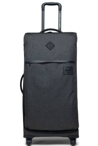HERSCHEL 10673-02090-OS HIGHLAND LARGE BLACK CROSSHATCH