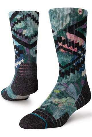ΚΑΛΤΣΕΣ STANCE SOCKS A588A20DRC-GRN-GREEN DESERT ROSE CREW FEEL360 Hike