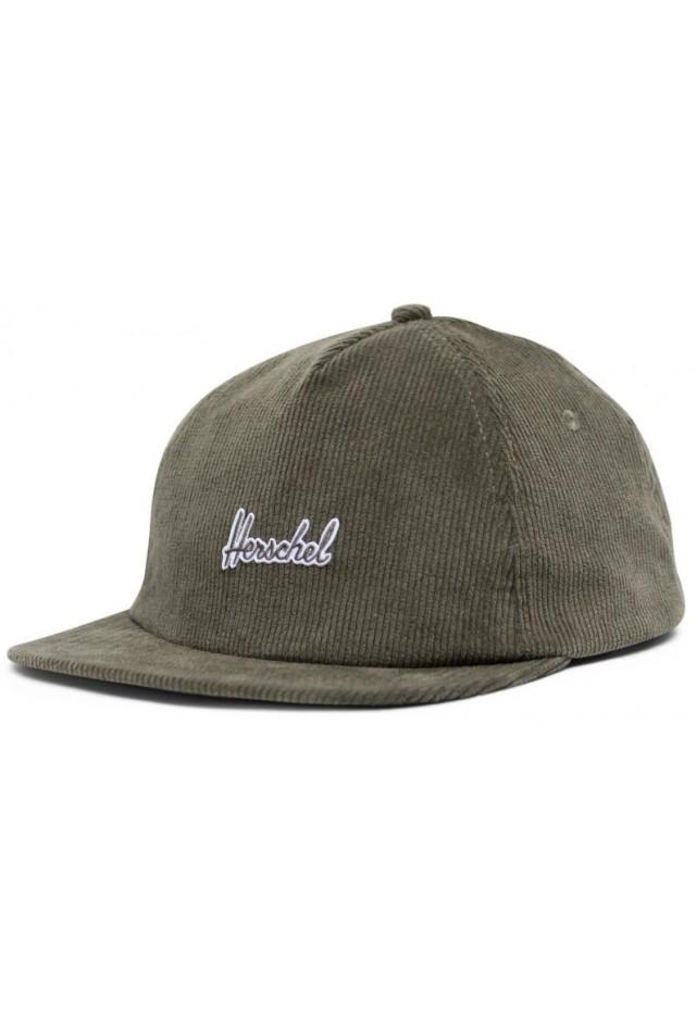HERSCHEL 1143-1066-OS SCOUT CAP DUSTY OLIVE