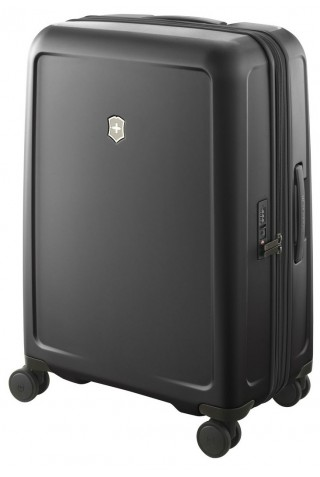 VICTORINOX CONNEX MEDIUM HARDSIDE CASE 605667 BLACK