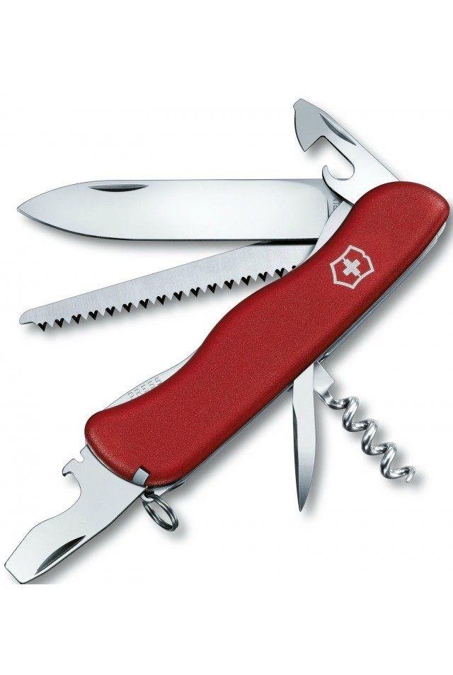 VICTORINOX NO. 0.8363 FORESTER 111MM RED