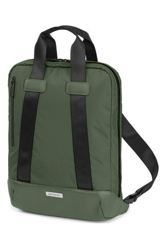 ΣΑΚΙΔΙΟ ΠΛΑΤΗΣ MOLESKINE ET926MTDBVK6 METRO DEVICE BAG VERTICAL MOSS GREEN
