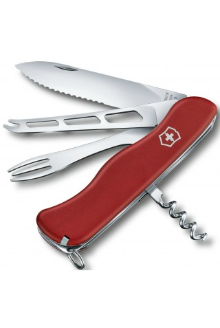VICTORINOX 0.8313.W CHEESE MASTER ,111MM RED