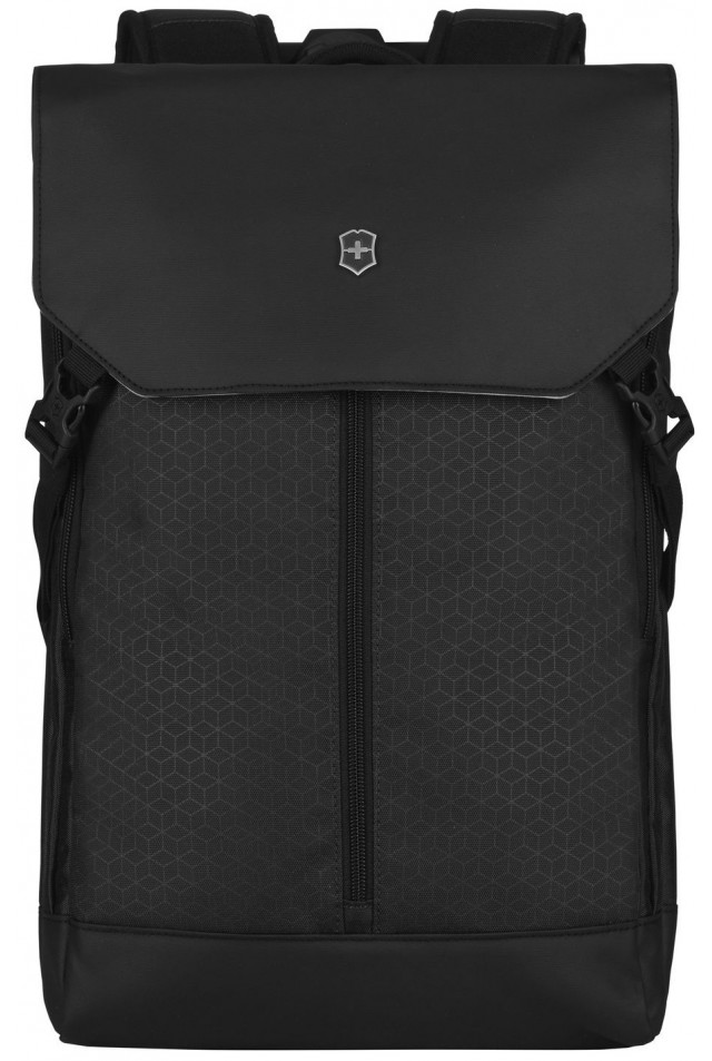 VICTORINOX ALTMONT ORIGINAL FLAPOVER LAPTOP BACKPACK 610222 BLACK