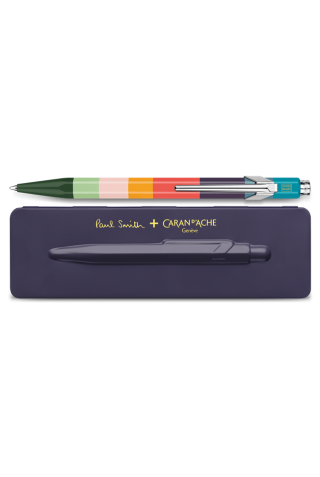 ΣΤΥΛΟ CARAN D' ACHE CDA 849.639 BALLPOINT PEN PAUL SMITH DAMSON INK