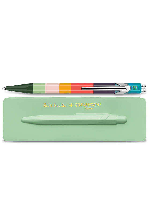ΣΤΥΛΟ CARAN D' ACHE CDA 849.721 BALLPOINT PEN PAUL SMITH PISTACCHIO GREEN