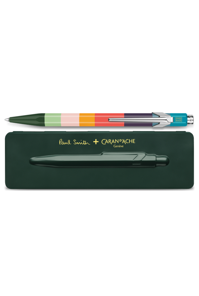 CARAN D' ACHE CDA 849.729 BALLPOINT PEN PAUL SMITH RACING GREEN