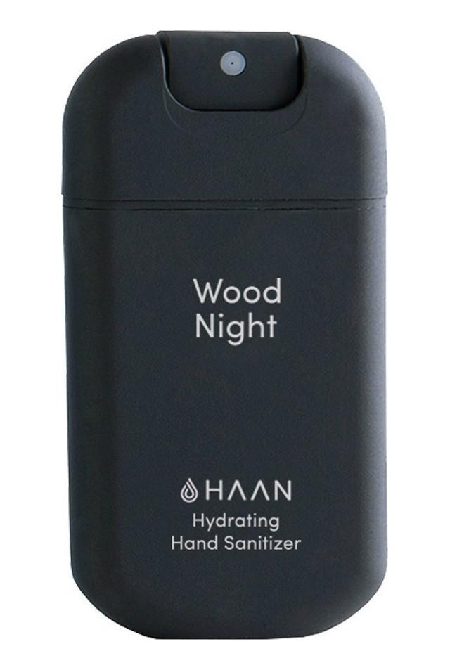 HAAN HAND SANITIZER POCKET WOOD NIGHT BLACK