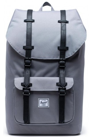ΣΑΚΙΔΙΟ ΠΛΑΤΗΣ HERSCHEL 10014-02998-OS LITTLE AMERICA BACKPACK Grey/Black