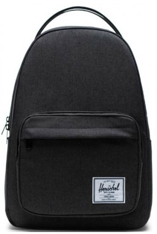 ΣΑΚΙΔΙΟ ΠΛΑΤΗΣ HERSCHEL 10789-02090-OS MILLER BACKPACK BLACK CROSSHATCH