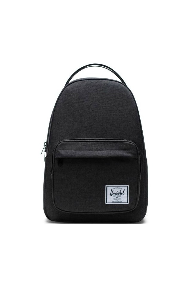 HERSCHEL 10789-02090-OS MILLER BACKPACK BLACK CROSSHATCH