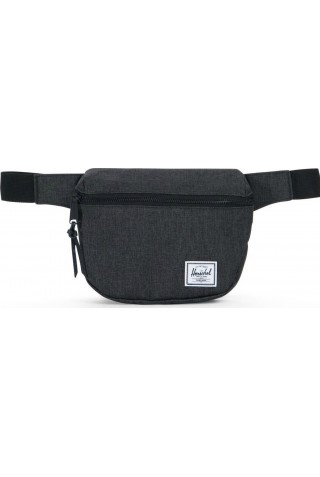 ΤΣΑΝΤΑΚΙ ΜΕΣΗΣ HERSCHEL 10215-02090-OS FIFTEEN HIP PACK BLACK CROSSHATCH