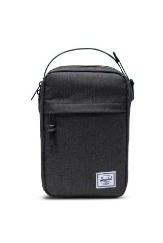HERSCHEL 10837-02090-OS CHAPTER CONNECT TRAVEL KIT BLK CROSSHATCH