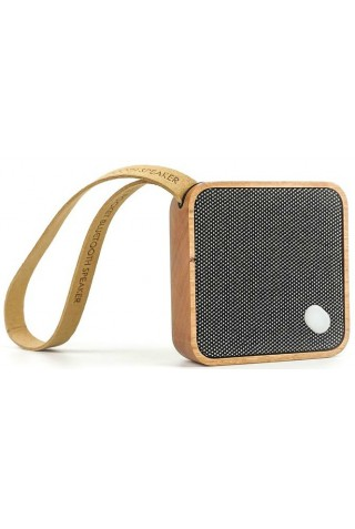 GINGKO G005CH MI SQUARE BLUETOOTH SPEAKER NATURAL CHERRY