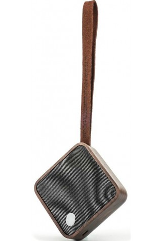 GINGKO G005WT MI SQUARE BLUETOOTH SPEAKER NATURAL WALNUT