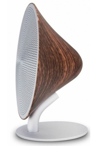ΕΠΙΤΡΑΠΕΖΙΟ ΗΧΕΙΟ GINGKO G007WT MINI HALO ONE BLUETOOTH SPEAKER MATTE WALNUT