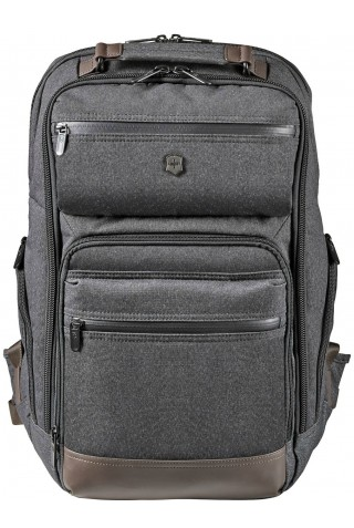 ΣΑΚΙΔΙΟ ΠΛΑΤΗΣ VICTORINOX RATH BACKPACK 602837 GREY/BROWN