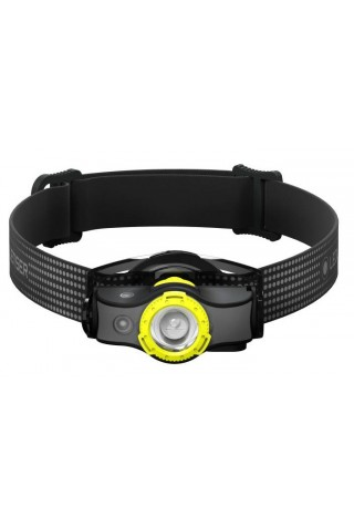 LED LENSER 502144 MH5 HEADLAMP BLACK/YELLOW