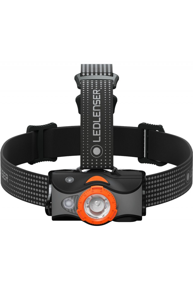 LED LENSER 502153 MH7 HEADLAMP BLACK/ORANGE