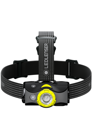 LED LENSER 502154 MH7 HEADLAMP BLACK/YELLOW