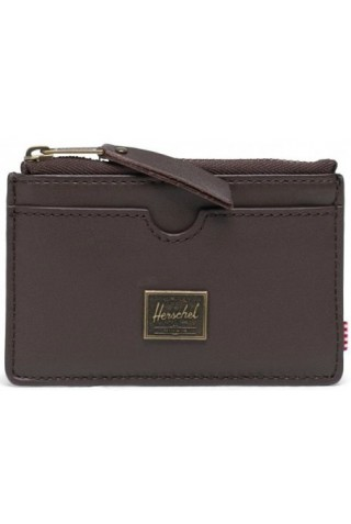 ΔΕΡΜΑΤΙΝΟ ΠΟΡΤΟΦΟΛΙ HERSCHEL 10848-04123-OS OSCAR LEATHER WALLET RFID BROWN