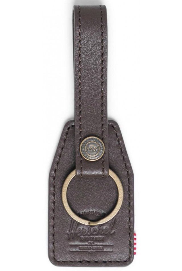 ΜΠΡΕΛΟΚ HERSCHEL 10815-04123-OS SNAP LEATHER KEYCHAIN BROWN
