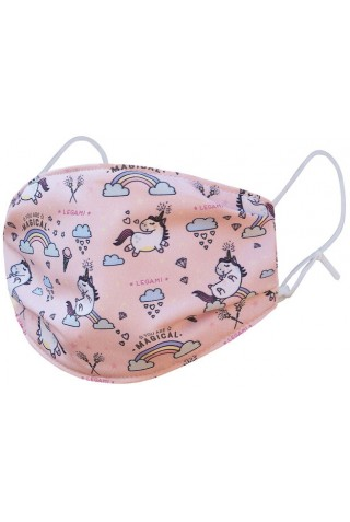ΠΑΙΔΙΚΗ ΜΑΣΚΑ ΠΡΟΣΤΑΣΙΑΣ LEGAMI MABA0005 REUSABLE FACE MASK FOR KIDS UNICORN