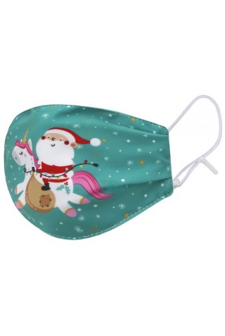 LEGAMI CMABA00002 WHAT A MASK FESTIVE MAGIC UNICORN