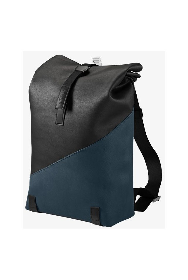 BROOKS ENGLAND PICKWICK PATCHWORK BACKPACK SMALL 12L BLACK/DARK BLUE