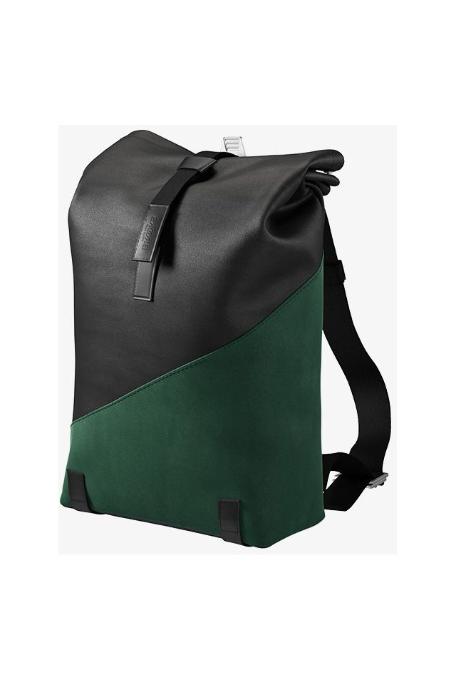 BROOKS ENGLAND PICKWICK PATCHWORK BACKPACK SMALL 12L BLACK/FOREST