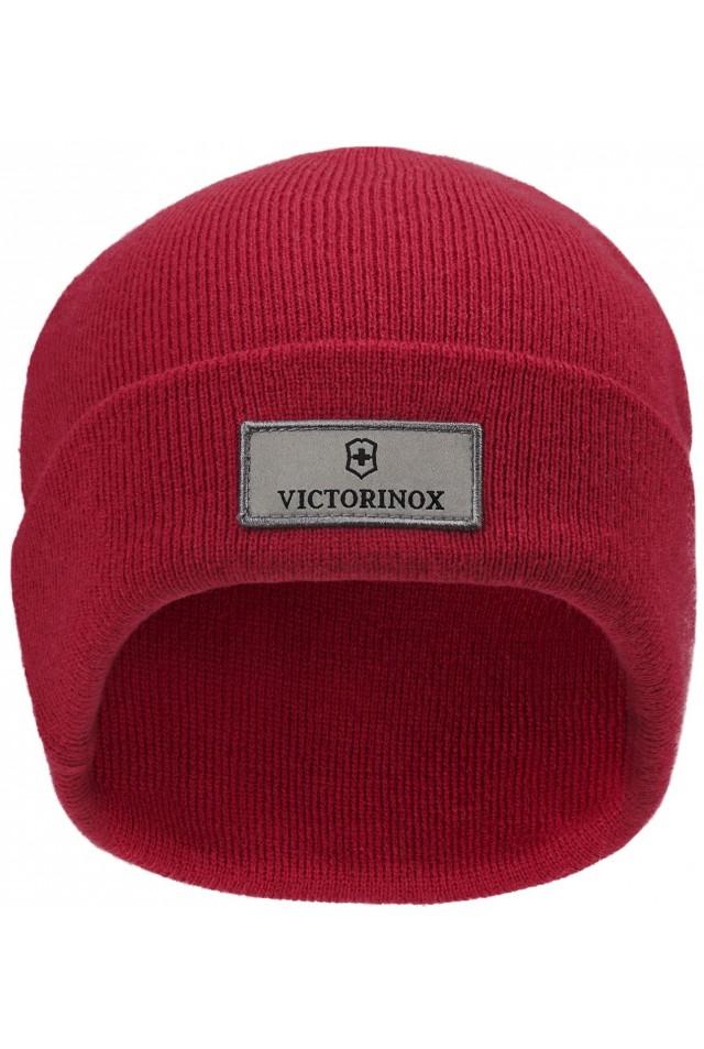 VICTORINOX FAN BEANIE WITH VICTORINOX LOGO 611130 RED