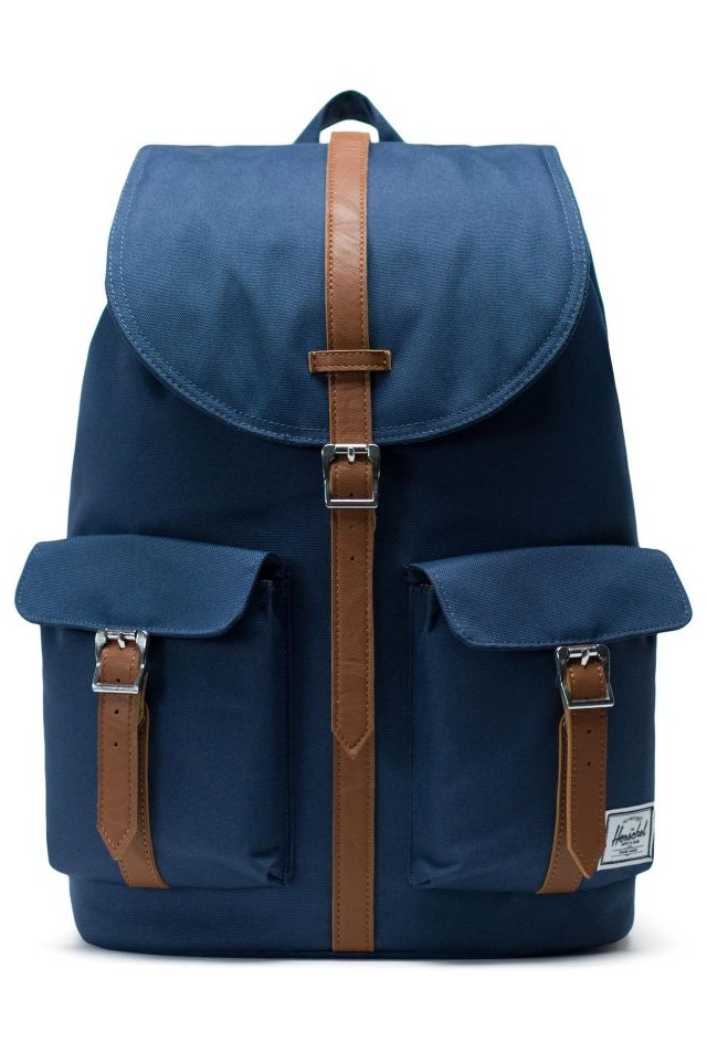 HERSCHEL 10233-00007-OS DAWSON BACKPACK NAVY/TAN